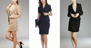 Đồng phục công sở sang trọng cho nữ