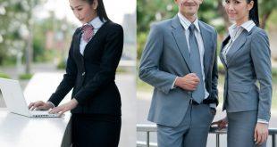 Mẫu đồng phục đẹp cho nhân viên văn phòng